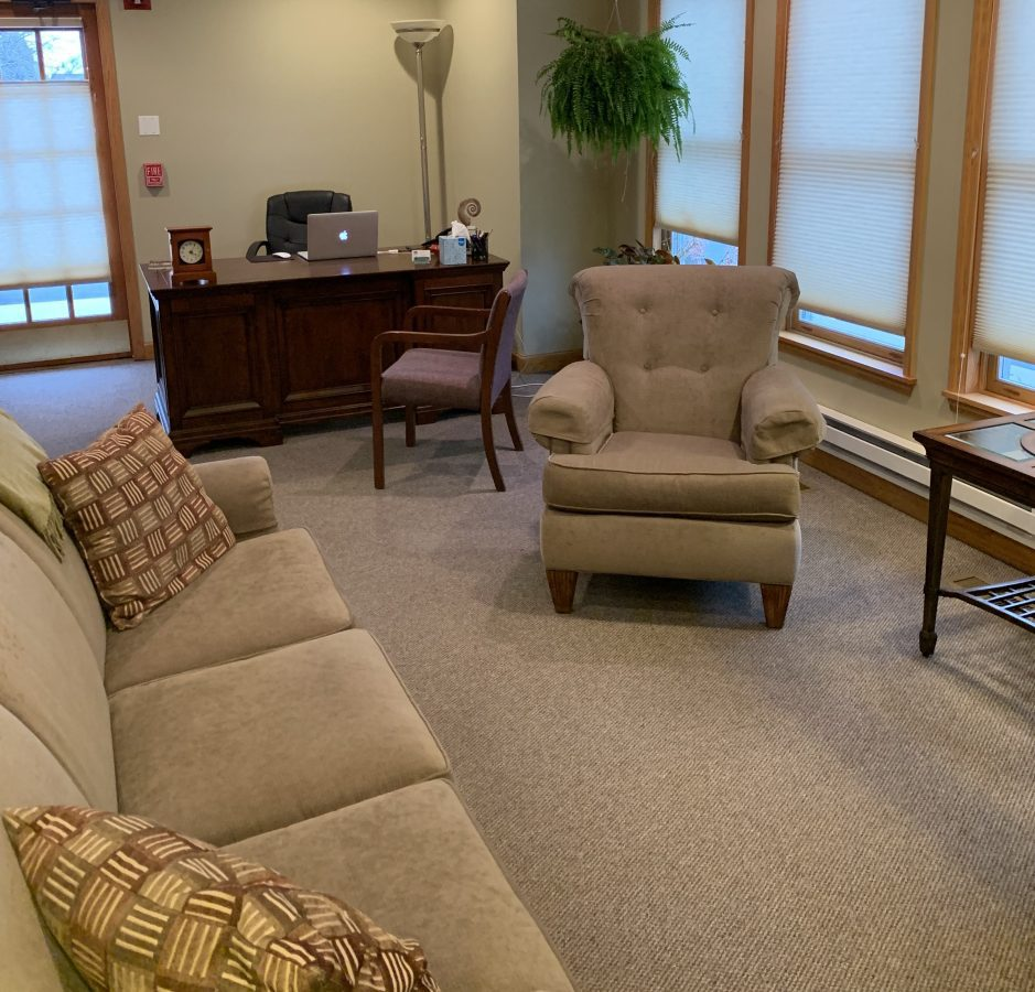 Reflections on therapy office design